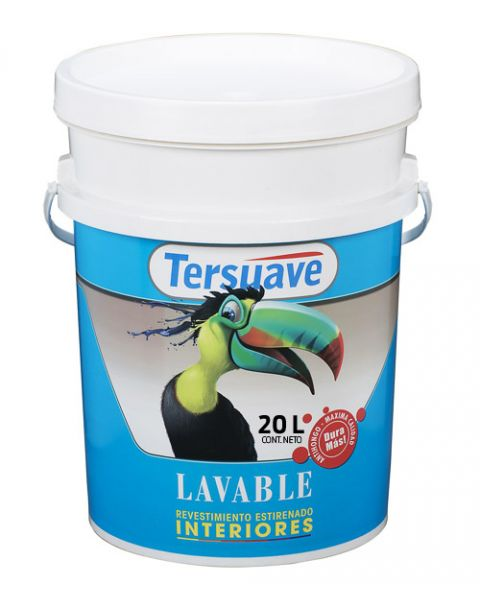 Rev.Lavable Inter. X 20Lt-Tersuave